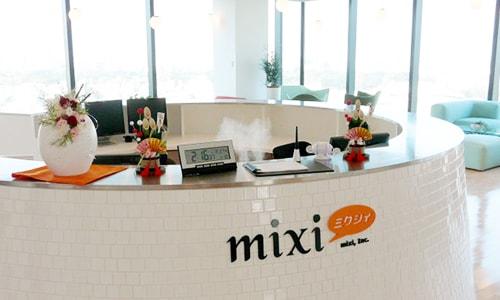 YYCの運営会社「mixi」