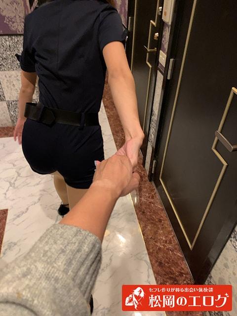 ハロウィンギャルをナンパしてホテルへ行った写真